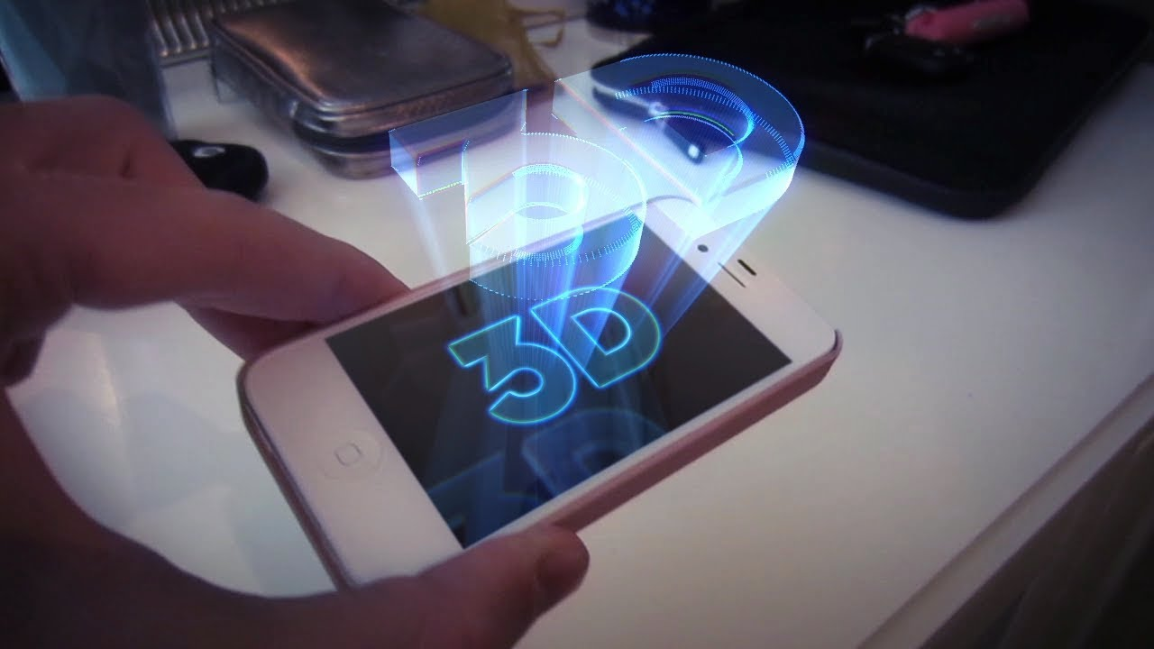 iphone-3d-projection