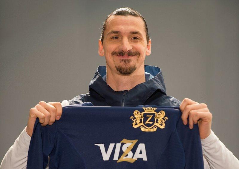 VISA brand FIFA Jersey