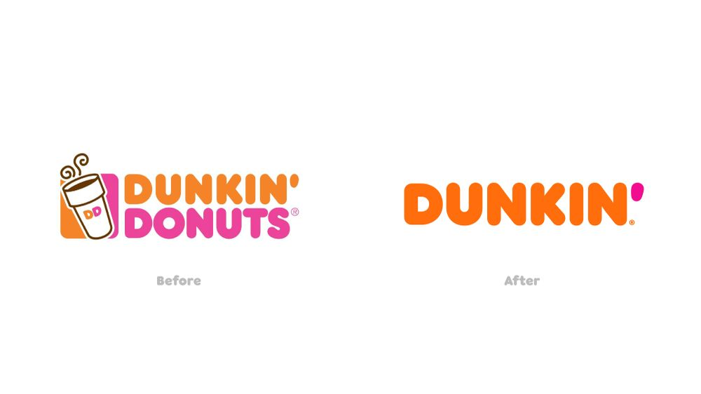 2018 rebrands - DUnkin'