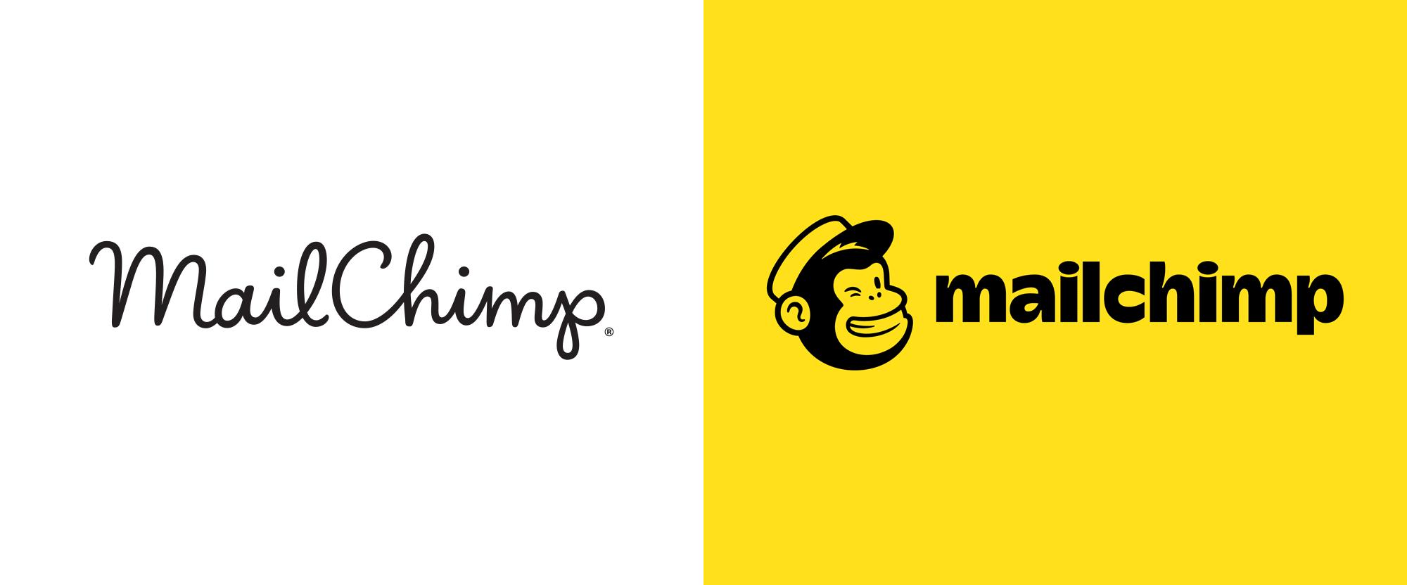 2018 rebrands - MailChimp